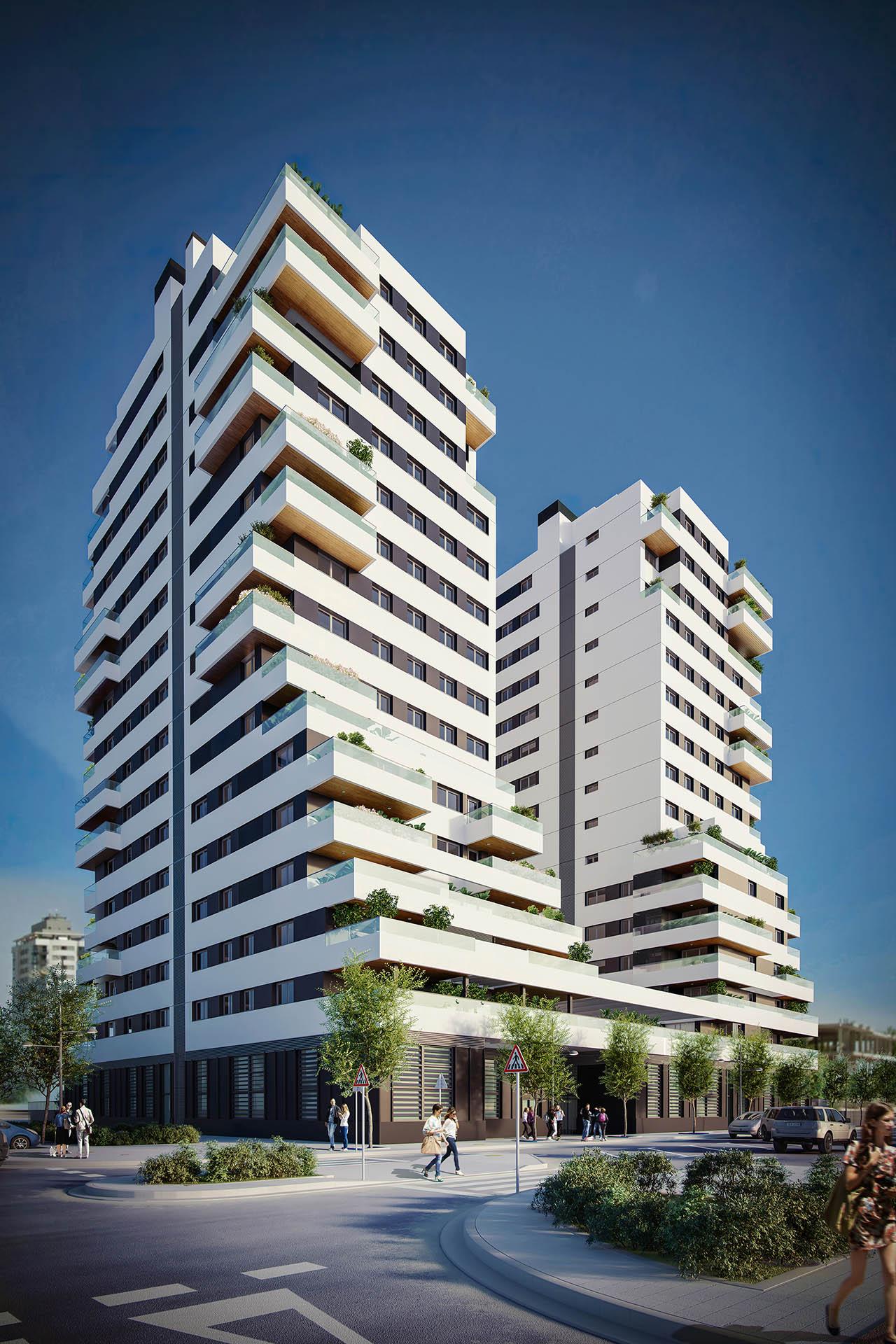 Habitat Atrium Towers. Cano y Escario