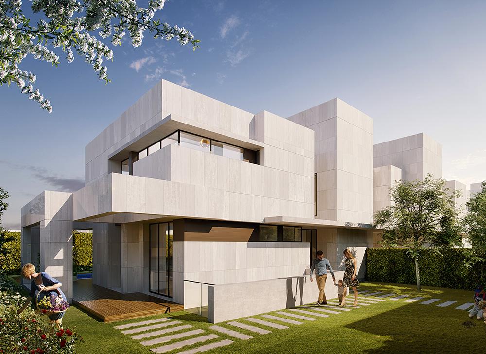 Landia Valdemarin single family houses. Cano y Escario