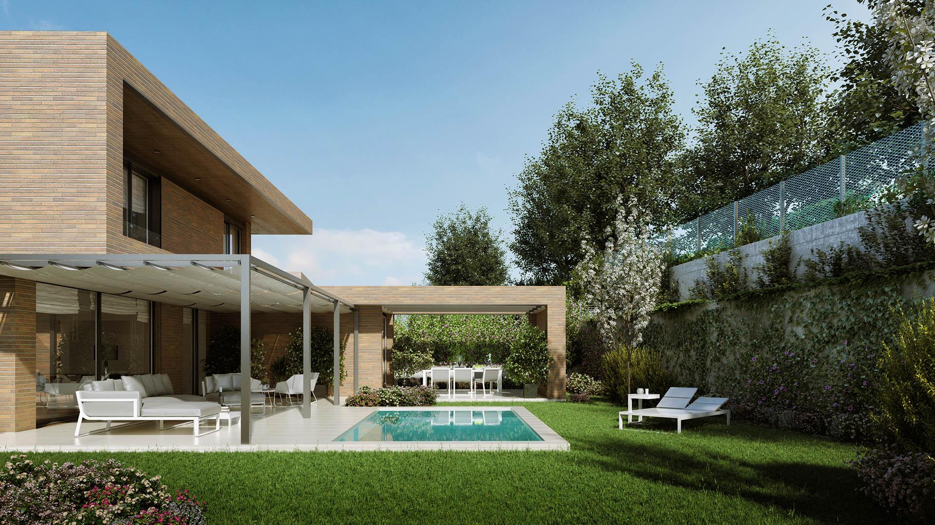 Lazarejo singular single family houses. Cano y Escario